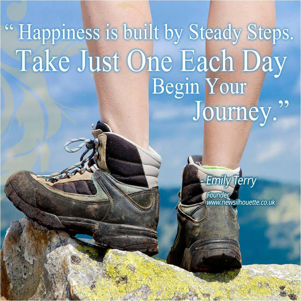 happiness hiking boots