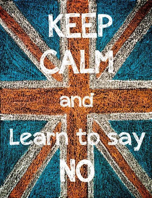 United Kingdom (British Union jack) flag, hand drawing with chal